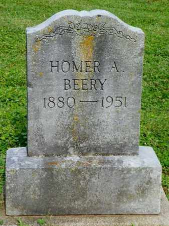 BEERY, HOMER A. - Shelby County, Ohio | HOMER A. BEERY - Ohio Gravestone Photos
