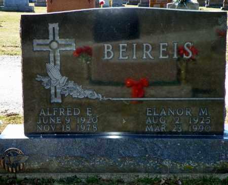 BEIREIS, ALFRED E. - Shelby County, Ohio | ALFRED E. BEIREIS - Ohio Gravestone Photos