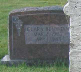 BENSMAN, CLARA - Shelby County, Ohio | CLARA BENSMAN - Ohio Gravestone Photos