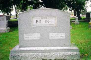 BILLING, GEORGE H. - Shelby County, Ohio | GEORGE H. BILLING - Ohio Gravestone Photos