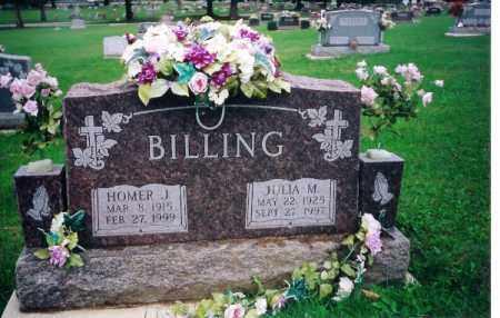 BILLING, HOMER J - Shelby County, Ohio | HOMER J BILLING - Ohio Gravestone Photos