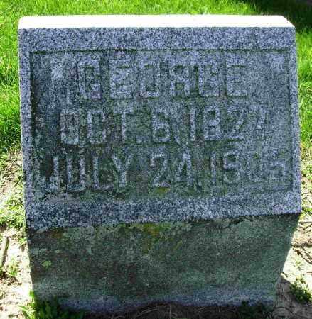 BLAKELEY, GEORGE - Shelby County, Ohio   GEORGE BLAKELEY - Ohio Gravestone Photos