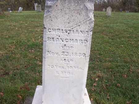 BLANCHARD, CHRISTIANA - Shelby County, Ohio | CHRISTIANA BLANCHARD - Ohio Gravestone Photos