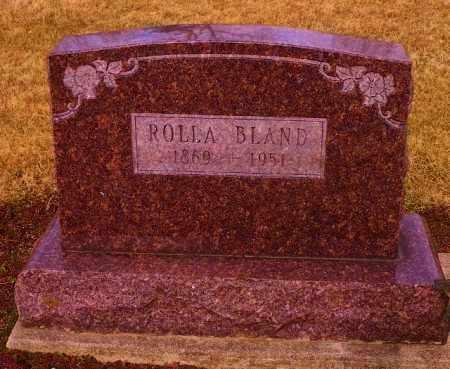 BLAND, ROLLA - Shelby County, Ohio | ROLLA BLAND - Ohio Gravestone Photos