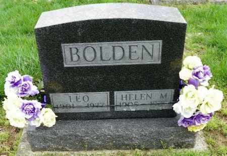 BOLDEN, LEO - Shelby County, Ohio | LEO BOLDEN - Ohio Gravestone Photos