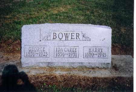 BOWER, HARRY F - Shelby County, Ohio | HARRY F BOWER - Ohio Gravestone Photos