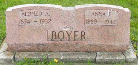 BOYER, ANNA E. - Shelby County, Ohio | ANNA E. BOYER - Ohio Gravestone Photos