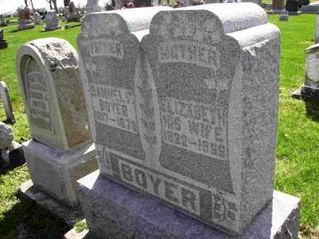 BOYER, ELIZABETH - Shelby County, Ohio | ELIZABETH BOYER - Ohio Gravestone Photos