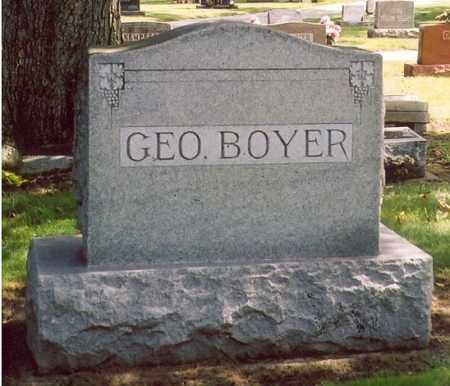 BOYER, GEORGE - Shelby County, Ohio   GEORGE BOYER - Ohio Gravestone Photos