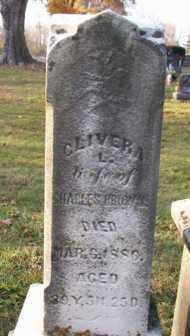 BROWN, CLIVERA L. - Shelby County, Ohio | CLIVERA L. BROWN - Ohio Gravestone Photos