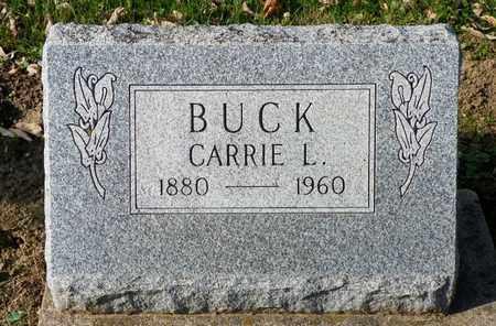 BUCK, CARRIE L. - Shelby County, Ohio | CARRIE L. BUCK - Ohio Gravestone Photos