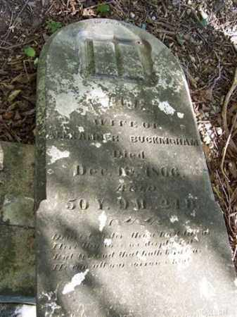 BUCKINGHAM, MARIA - Shelby County, Ohio | MARIA BUCKINGHAM - Ohio Gravestone Photos