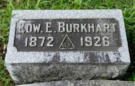 BURKHART, EDWARD E. - Shelby County, Ohio   EDWARD E. BURKHART - Ohio Gravestone Photos