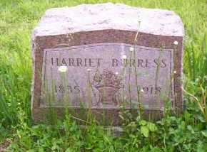BURRESS, HARRIET - Shelby County, Ohio | HARRIET BURRESS - Ohio Gravestone Photos