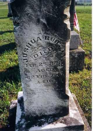BURTON, JOSHUA - Shelby County, Ohio | JOSHUA BURTON - Ohio Gravestone Photos