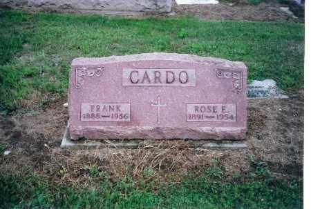 CARDO, FRANK - Shelby County, Ohio | FRANK CARDO - Ohio Gravestone Photos