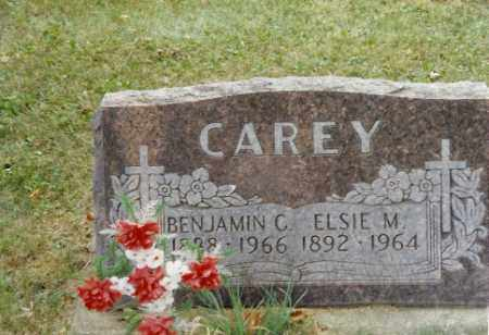 CAREY, BENJAMIN C. - Shelby County, Ohio | BENJAMIN C. CAREY - Ohio Gravestone Photos