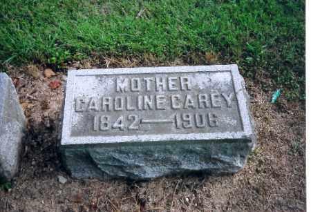 CAREY, CAROLINE - Shelby County, Ohio | CAROLINE CAREY - Ohio Gravestone Photos