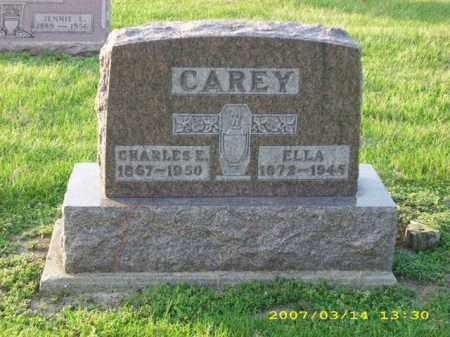 CAREY, ELLA - Shelby County, Ohio | ELLA CAREY - Ohio Gravestone Photos