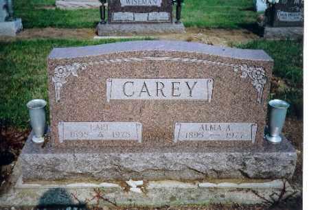 CAREY, ALMA A - Shelby County, Ohio | ALMA A CAREY - Ohio Gravestone Photos