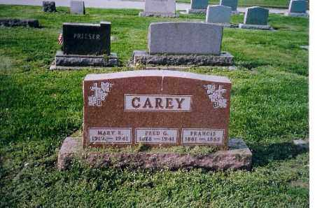 CAREY, MARY ELIZABETH - Shelby County, Ohio | MARY ELIZABETH CAREY - Ohio Gravestone Photos