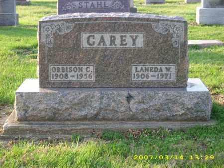 CAREY, ORBISON C - Shelby County, Ohio | ORBISON C CAREY - Ohio Gravestone Photos