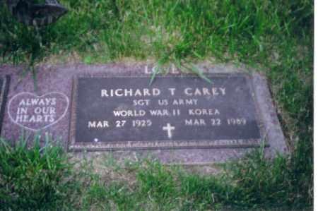 CAREY, SR., RICHARD T - Shelby County, Ohio   RICHARD T CAREY, SR. - Ohio Gravestone Photos