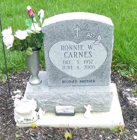 CARNES, RONNIE W. - Shelby County, Ohio | RONNIE W. CARNES - Ohio Gravestone Photos