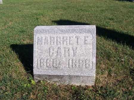 CARY, MARGARET E - Shelby County, Ohio | MARGARET E CARY - Ohio Gravestone Photos