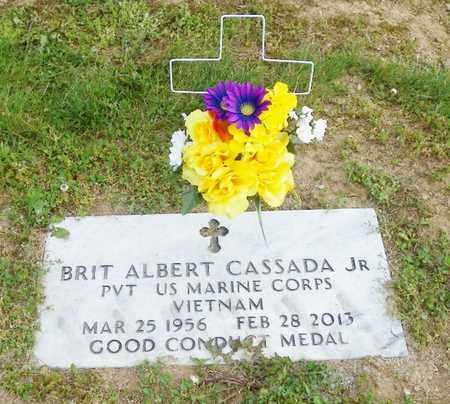 CASSADA, BRIT ALBERT - Shelby County, Ohio | BRIT ALBERT CASSADA - Ohio Gravestone Photos