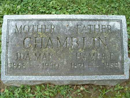 HIGGINS CHAMBLIN, IDA MAE - Shelby County, Ohio | IDA MAE HIGGINS CHAMBLIN - Ohio Gravestone Photos