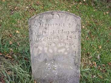 CLAWSON, FREDRICK - Shelby County, Ohio   FREDRICK CLAWSON - Ohio Gravestone Photos