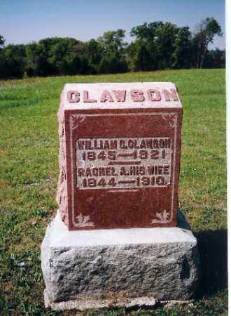 CLAWSON, RACHEL A - Shelby County, Ohio | RACHEL A CLAWSON - Ohio Gravestone Photos
