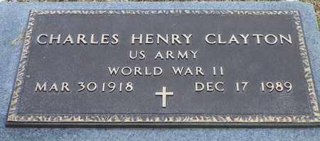 CLAYTON, CHARLES HENRY - Shelby County, Ohio   CHARLES HENRY CLAYTON - Ohio Gravestone Photos