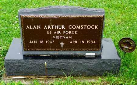 COMSTOCK, ALAN ARTHUR - Shelby County, Ohio | ALAN ARTHUR COMSTOCK - Ohio Gravestone Photos