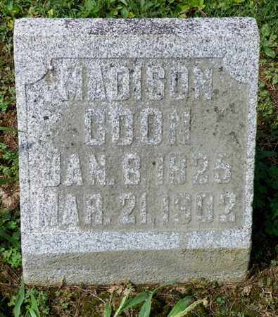 COON, MADISON - Shelby County, Ohio | MADISON COON - Ohio Gravestone Photos