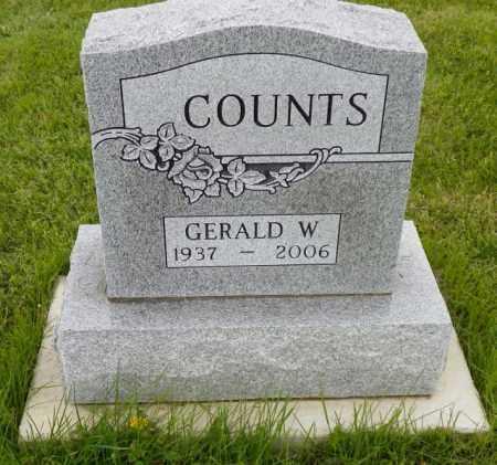 COUNTS, GERALD W. - Shelby County, Ohio | GERALD W. COUNTS - Ohio Gravestone Photos
