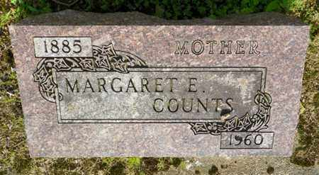 COUNTS, MARGARET E. - Shelby County, Ohio | MARGARET E. COUNTS - Ohio Gravestone Photos