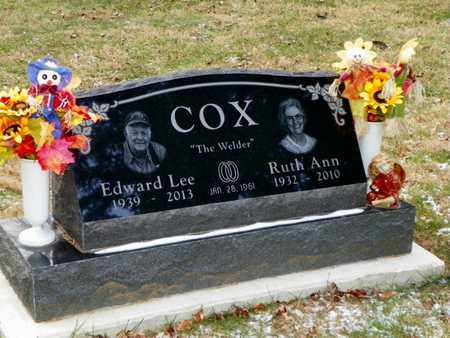 COX, EDWARD LEE - Shelby County, Ohio | EDWARD LEE COX - Ohio Gravestone Photos