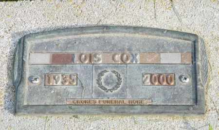 COX, LOIS - Shelby County, Ohio   LOIS COX - Ohio Gravestone Photos
