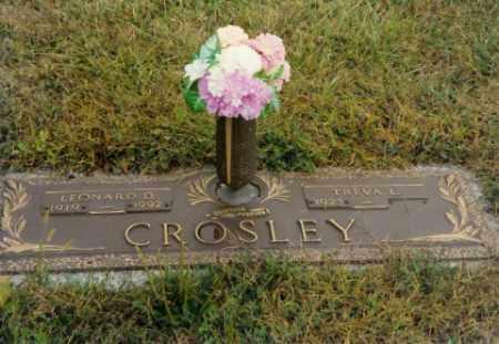 ALLEN CROSLEY, TREVA L - Shelby County, Ohio | TREVA L ALLEN CROSLEY - Ohio Gravestone Photos