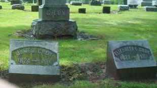 CROY, ELIZABETH L. - Shelby County, Ohio | ELIZABETH L. CROY - Ohio Gravestone Photos
