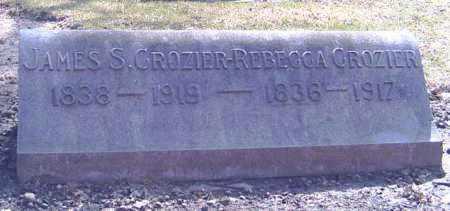 CROZIER, JAMES S. - Shelby County, Ohio | JAMES S. CROZIER - Ohio Gravestone Photos
