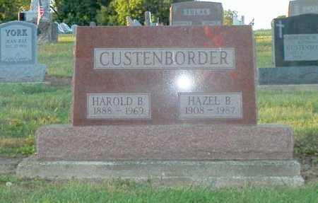 CUSTENBORDER, HAZEL B. - Shelby County, Ohio | HAZEL B. CUSTENBORDER - Ohio Gravestone Photos