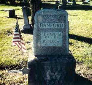 DANFORD, EDWARD M. - Shelby County, Ohio | EDWARD M. DANFORD - Ohio Gravestone Photos