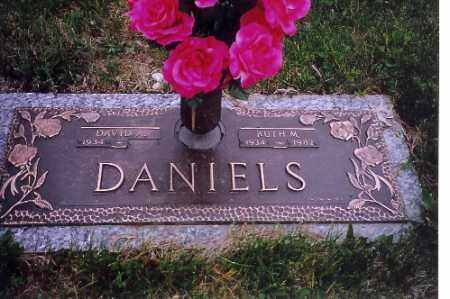 DANIELS, DAVID A. - Shelby County, Ohio | DAVID A. DANIELS - Ohio Gravestone Photos