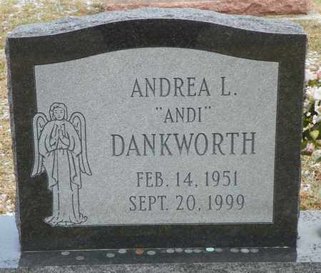 DANKWORTH, ANDREA L. - Shelby County, Ohio | ANDREA L. DANKWORTH - Ohio Gravestone Photos