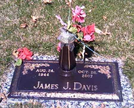 DAVIS, JAMES J. - Shelby County, Ohio | JAMES J. DAVIS - Ohio Gravestone Photos