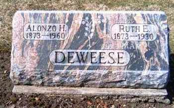 DEWEESE, RUTH E. - Shelby County, Ohio | RUTH E. DEWEESE - Ohio Gravestone Photos