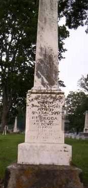 DEWEESE, REBECCA - Shelby County, Ohio | REBECCA DEWEESE - Ohio Gravestone Photos
